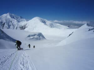 Climbing Denali in Alaska