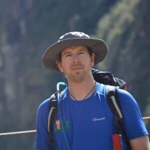 Ian Taylor in Machu Picchu