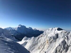 High in the Himalaya's