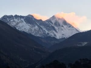 Mount Everest from Tengbouche