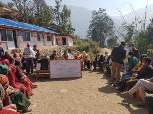 New Ian Taylor Trekking school in Nepal