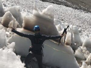 Ice Penitentes on Aconcagua