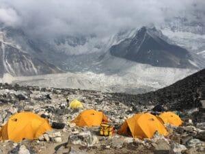 High Camp on Island Peak
