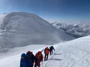 High on Mount Elbrus