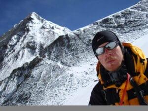 Ian Taylor on the Lhotse Face