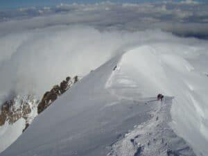 High on Mont Blanc