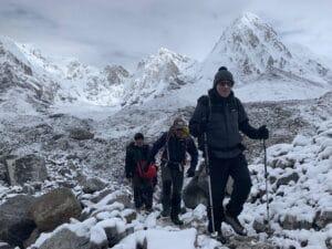 Below Everest Base Camp