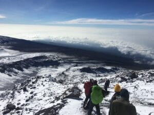High on Kilimanjaro
