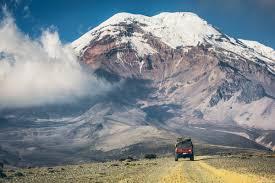 Chimborazo from the road in