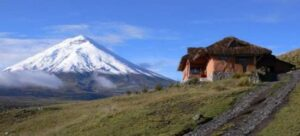 Cotopaxi from Tambopaxi lodge