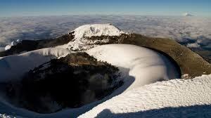 The summit of Chimborazo