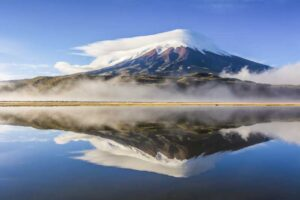 Stunning view of Cotopaxi
